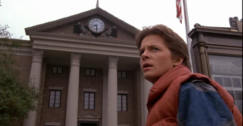 Marty and the Clock Tower