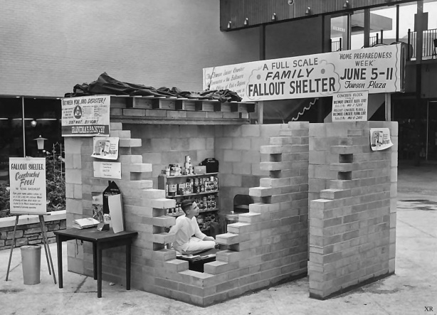 Family Fallout Shelter 1960