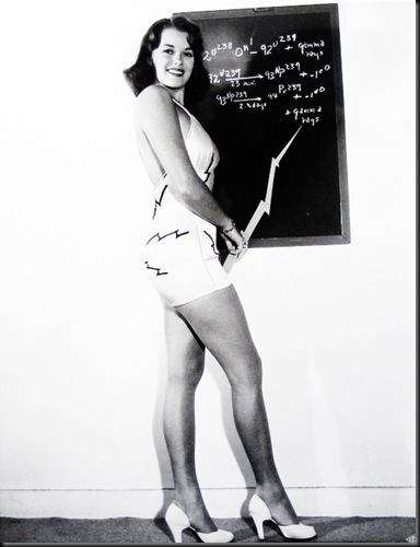 Miss Atomic Energy 1948